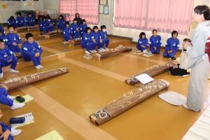 鮫川中琴の授業